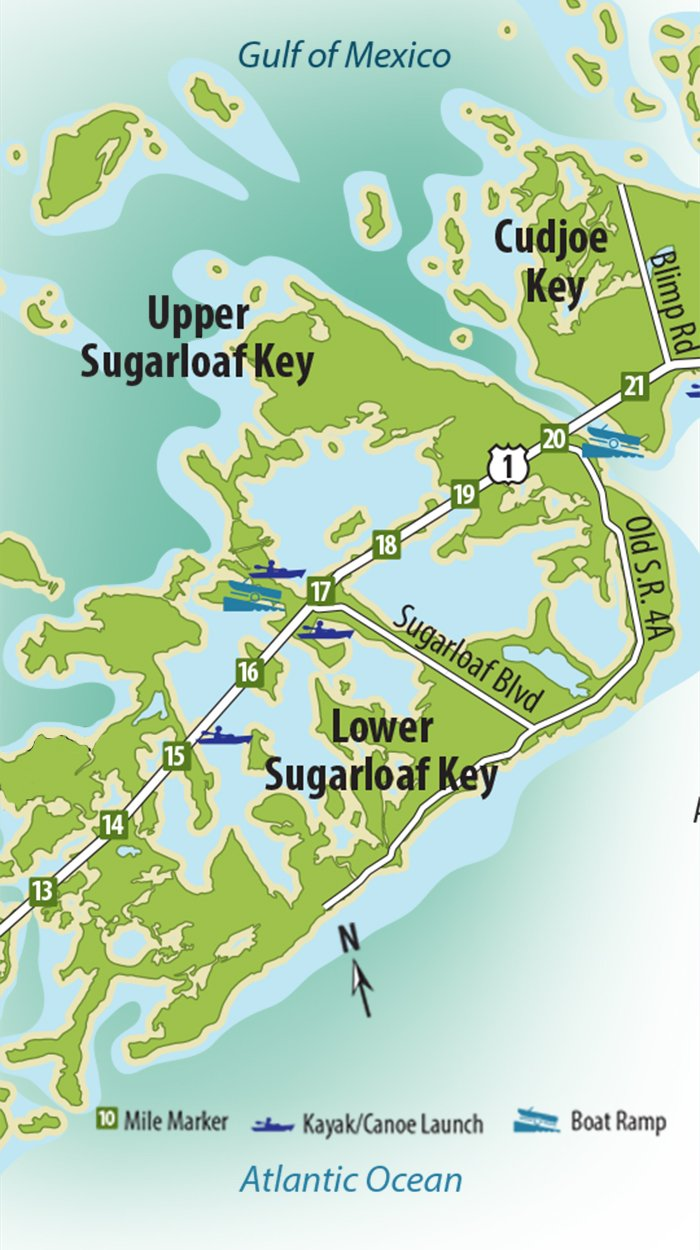 Sugarloaf Key Map