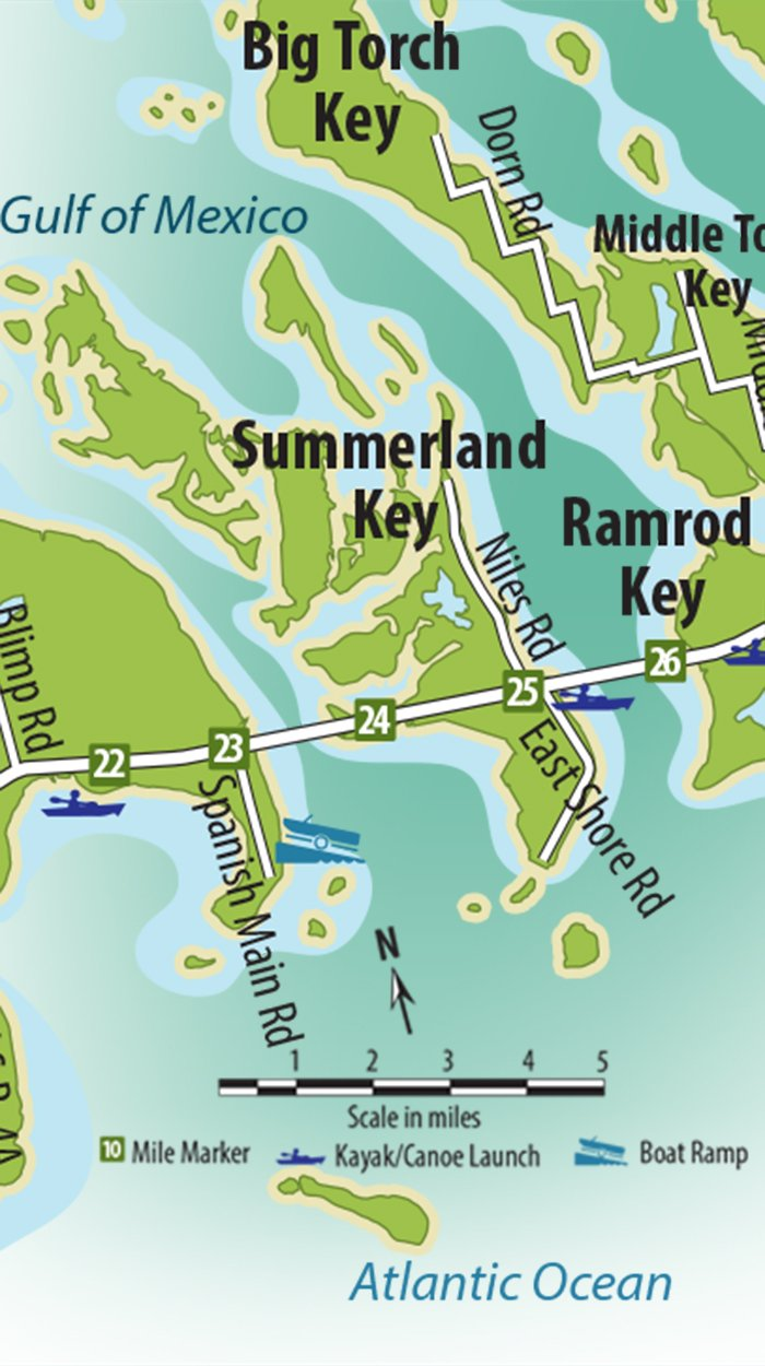 Summerland Key Map